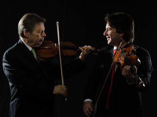 Prof  Yair & Eyal Kless, violin